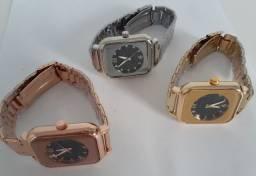 Relógio Feminino De Luxo C/ Ponteiro Lindo