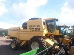 Colheitadeira New Holland TC 59 2002