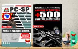 Apostila Polícia Civil Pc Sp Auxiliar de Papiloscopista Concurso 2020 - Nova e Lacrada