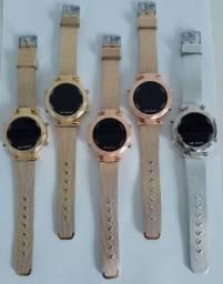 Relógio Feminino Digital Led Lindo Luxo