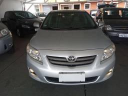 Toyota Corolla XEi 1.8 Aut/ ano 2010 /prata / 2° dono /revisado R$ 41 990