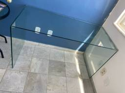 Mesa escritório vidro