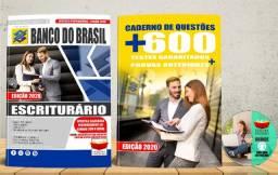 Apostila Banco do Brasil Escriturário Concurso 2020 Nova e Lacrada com Brinde