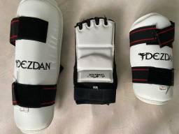 Kit proteção  taekwondo dezdan