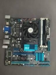 Kit Upgrade Gamer (fx 6300 + 8gb Ram + Placa-mãe Asus)