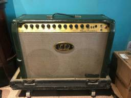 Amplificador guitarra Meteoro Cristalino com case