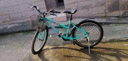 Bicicleta seminova R$ 790,00