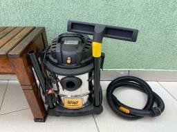 Título do anúncio: Aspirador de pó e agua Wap GTW Inox 20 20L aço inoxidável e preto 220V