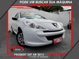 Peugeot 207 2013 XR 1.4 Flex 4P Manual
