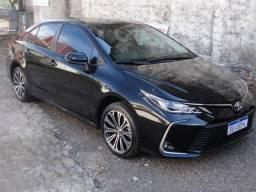 Título do anúncio: Corolla Xei 2.0 ano 2021 Preto Onix, 4.750 Km