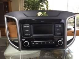 Rádio Original Automóvel Creta Action 2021.