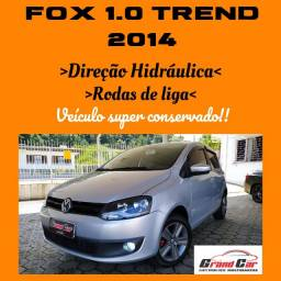 Fox 1.0 2014 Trend/ Impecável/ Direção Hidráulica