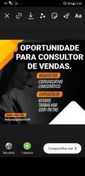 Título do anúncio: Oportunidade para quem gosta de trabalhar com Vendas!