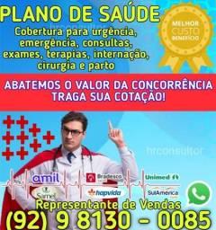 Título do anúncio: (Plano saude) = plano samel - plano saúde = plano saude - plano saude = (plano saude)