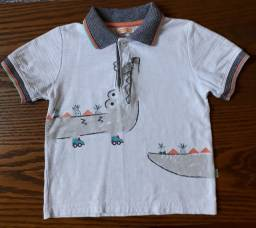 Título do anúncio: Camisa Alphabeto 3 a 4 anos