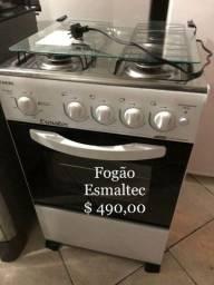 Título do anúncio: Fogão todo novo com automático e forno no precinho. Entrega imediata!