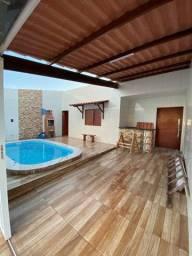 Excelente casa no Recanto das Saíras 3/4 com suite R$ 230 mil com piscina - 98832.6175