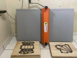 Título do anúncio: Máquina de corte e vinco Manual