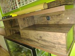 Título do anúncio: Rack de madeira sala