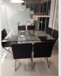 Título do anúncio: Mesa 8 cadeiras