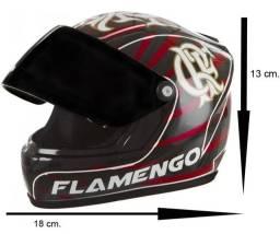 Título do anúncio: Mini Capacete Decorativo Flamengo Pro tork Perfeito Estado