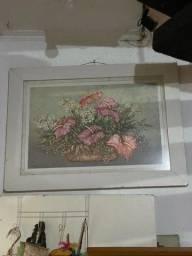 Título do anúncio: Quadro com flores