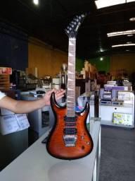 Guitarra com defeito