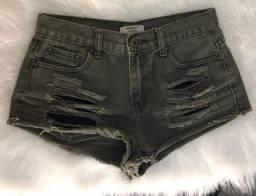 Título do anúncio: short jeans forever 21