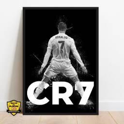 Título do anúncio: Quadros Cristiano Ronaldo