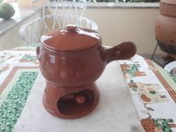 Título do anúncio: Conjunto para foundue em cerâmica
