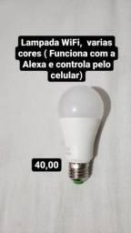 Título do anúncio: Lampada  WIFI COLORIDA  ALEXA