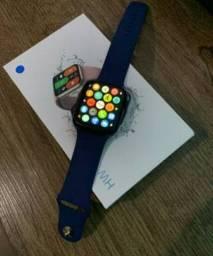 Smartwatch lançamento 2021 hw 16 original diversas cores disponíveis