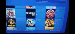 Conta de PS4 com mais de 110 jogos
