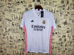 Camisa Real Madrid 2020/21 Tamanho M Pronta Entrega