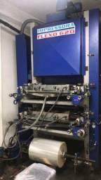 Flexográfica 620mm 2 cores bombas e doctor blade