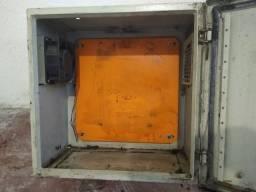 Título do anúncio: Caixa metálica para Quadro painel de comandos elétricos 40 x 40 x 25 cm com cooler