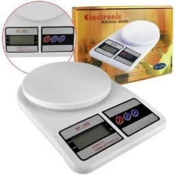 Balança Digital Portátil Precisão 1g Até 10kg Cozinha Dieta