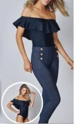 Calça Legging Jeans - Demillus