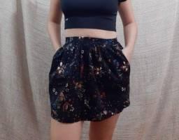 Título do anúncio: Mini-saia outono - importada da Espanha