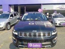 Título do anúncio: Jeep Compass Limited Diesel AT 2.0 4X4 Preta 17/18