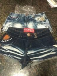 Short jeans (fill sete) r$120,00