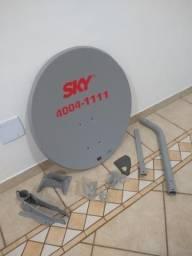 Antena nova com LNB universal entrega gratuita em toda baixada