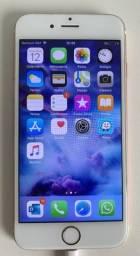 IPhone 6s Rosa Dourado, Tela 4.7, 4g, 32gb E Câmera 12mp