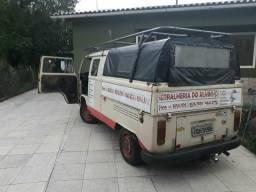 Kombi pick-up gabine dupla - 1985