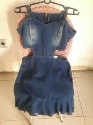 Vestido pouco usado conservado