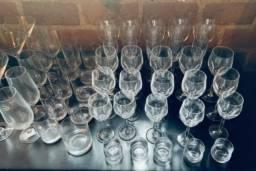 Conjunto de cristais