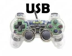 Controle USB para gamer