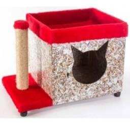Arranhador e casa para o gato, Mania Pet Delivery