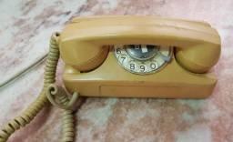 Telefone antigo marca GTE modelo Starlite MT 182A Ano 70