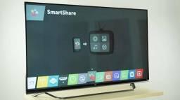 "Tv Smart 49"" 4k 3D Top C/ Nota fiscal"